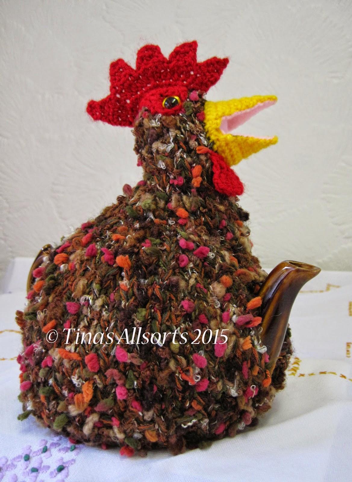 Tina's Allsorts Charlie Chicken Tea Cosie