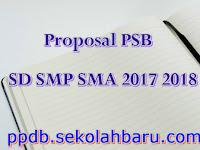 Proposal PSB SD SMP SMA 2017 2018