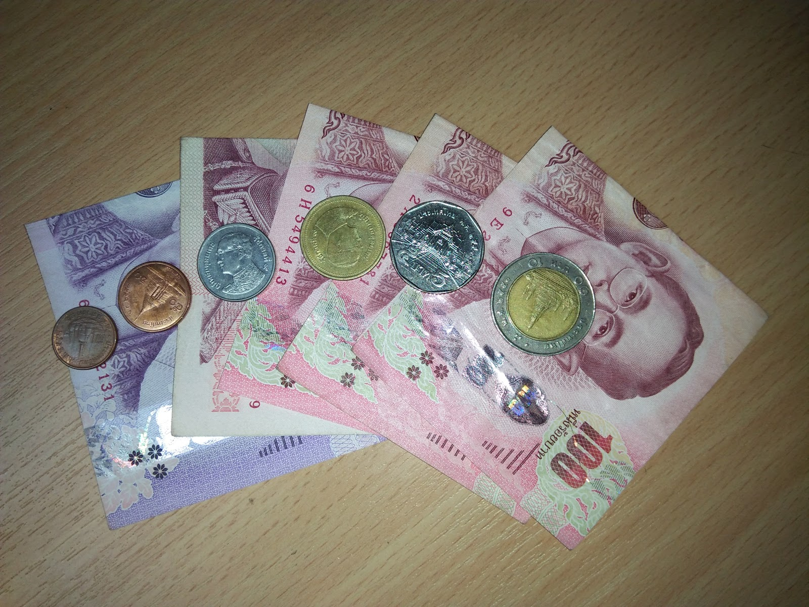 making a question in Thai language for exchange your money