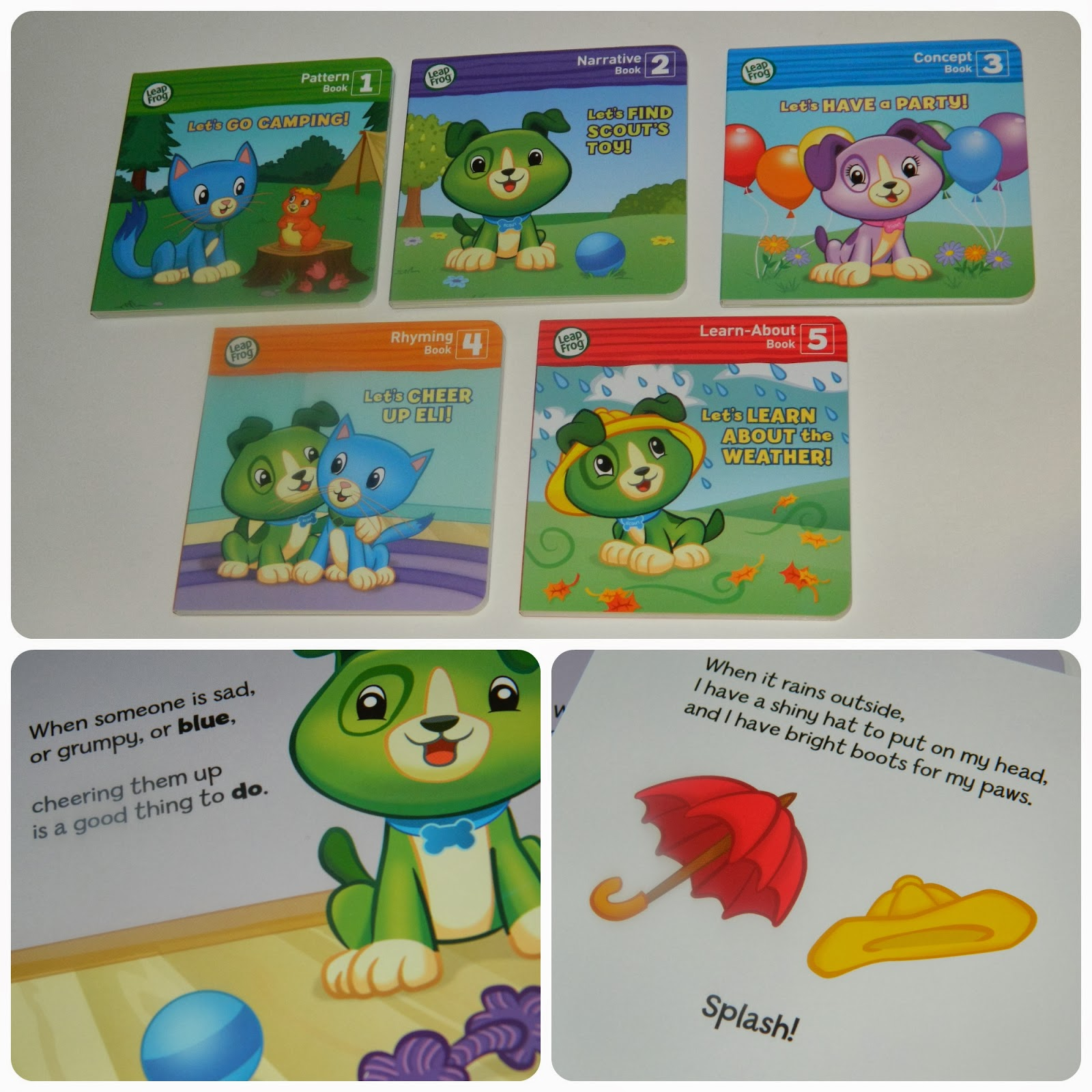 Read with Me Scout from LeapFrog Accompanying Books