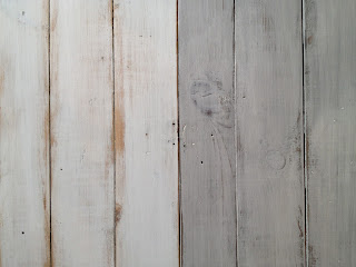 white paint versus grey stain