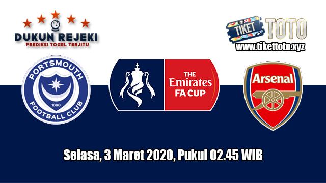 Prediksi FA Cup Portsmouth VS Arsenal 3 Maret 2020