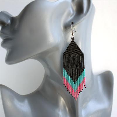 купить серьги ручной работы купить серьги онлайн бисерные украшения