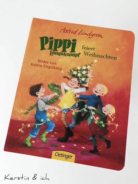 Kinderbücher Pippi Langstrumpf feiert Weihnachten