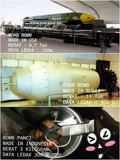 Roket Rusia dan Amerika Pun Kalah !! Jika Bom Panci ini Meladak Maka Radius Radius 300 Meter Hancur Semua - Commando