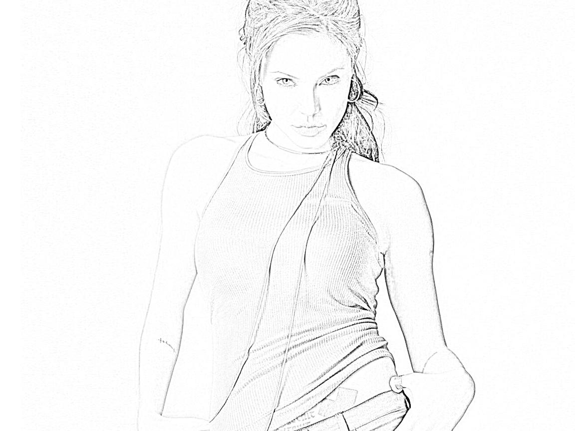 Membuat Efek Sket Pensil Pada Photoshop ~ @rie fabian