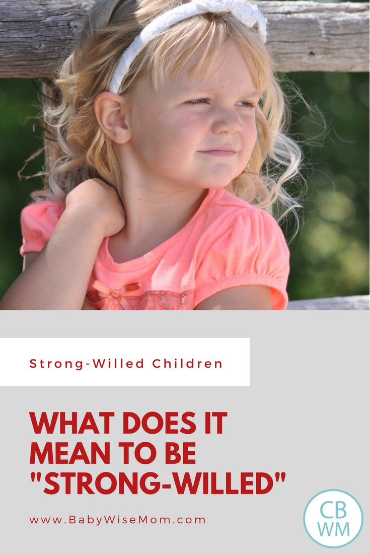 What does it mean to be strong-willed?