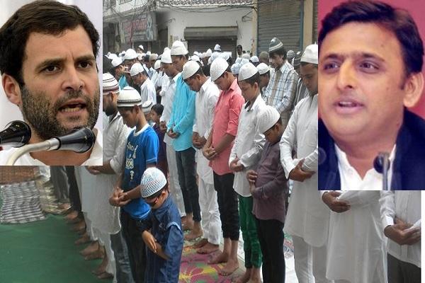 कांग्रेस से हाँथ मिलाकर  मुस्लिम वोट बैंक नहीं खोना चाहती है SP