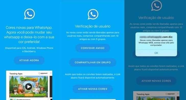 Mais de um milhão de usuários do WhatsApp já caíram em mais nova fraude do aplicativo