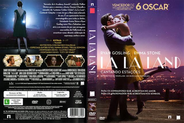 Capa DVD La La Land (Oficial)