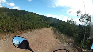 Seguindo para o outro lado da montanha.