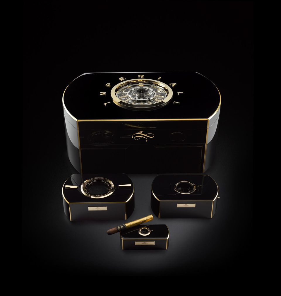 a36e43d8d82 The  1 Million Dollar Emperador Cigar Chest