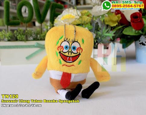 Souvenir Ulang Tahun Boneka Spongebob