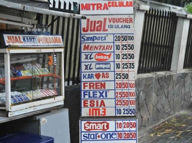 Kios Pulsa Murah Kota Bandung, Jawa Barat