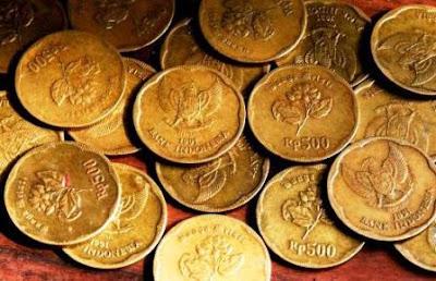 Uang logam 500 tahun keluar 1991