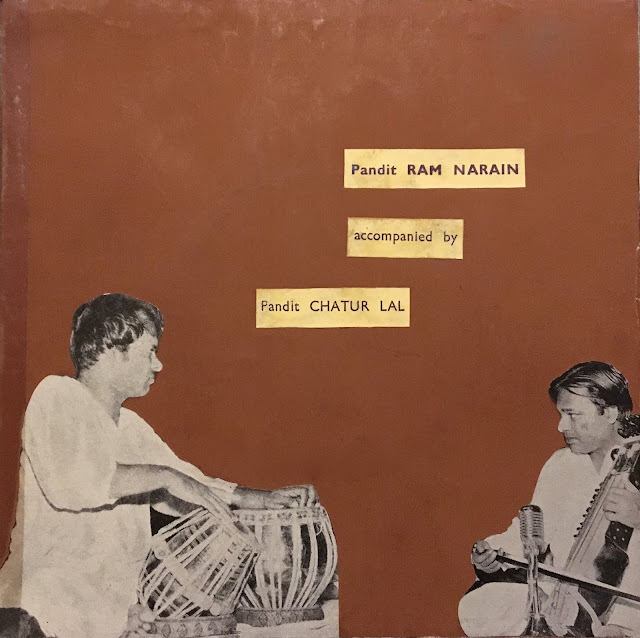 Ram Narayan Ram Narain Chatur Lal Hindustani North Indian Raga music musique indienne sarangi tabla