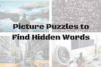 Picture Puzzles to Find Hidden Words