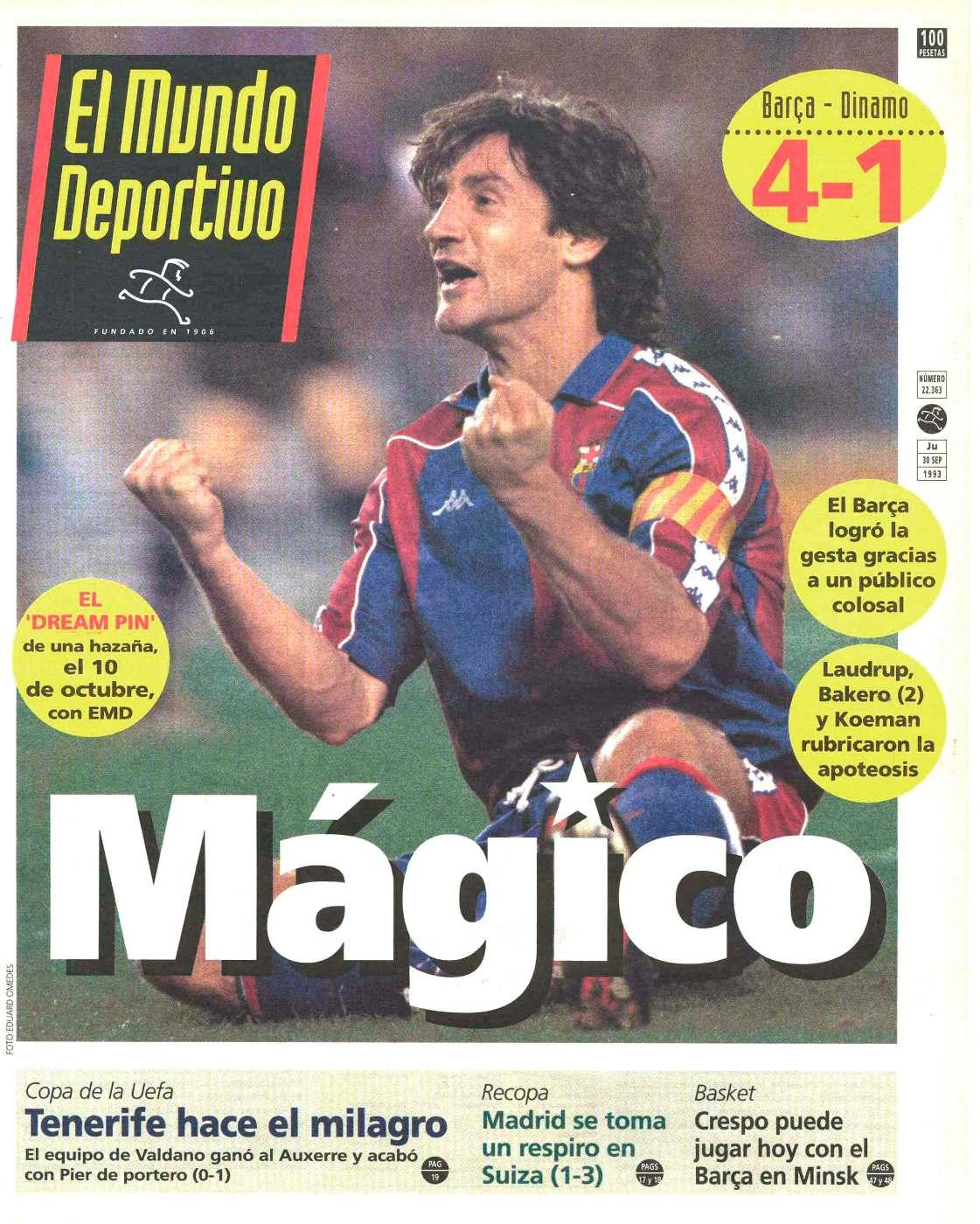 Champions League Mp3 Download: FRITZ THE FLOOD: Champions League 1993/1994 Barcelona