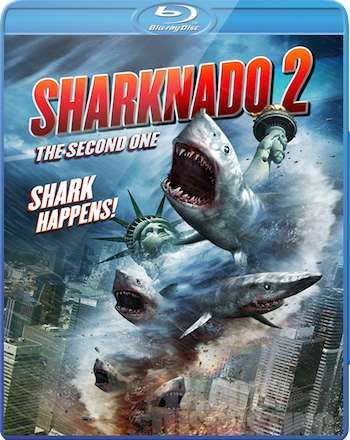Sharknado 2 The Second One 2014 UNRATED Dual Audio 720p BRRip 900mb