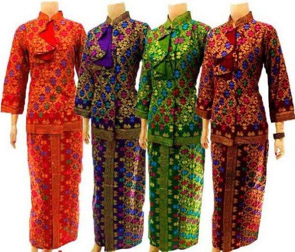 30 Model Baju Batik Atasan Dan Bawahan Rok Terbaru 2017  2018