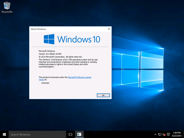 Windows 10 Enterprise LTSB 32/64 bit ISO Free Download