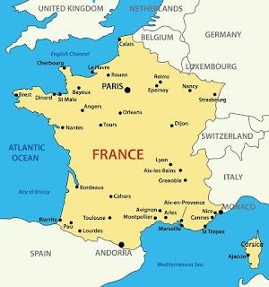 Geografi Negara Perancis