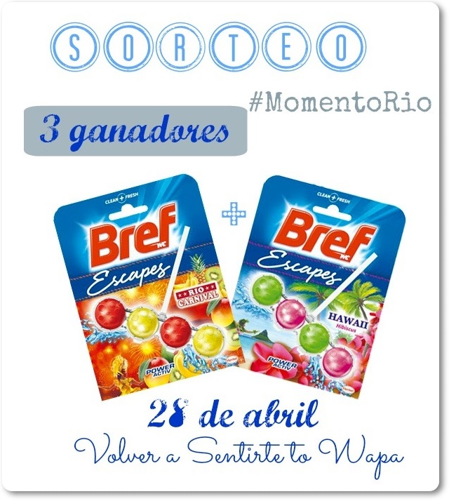 SORTEO Bref Escapes RIO