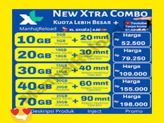 5 Paket Internet (Paket Data) XL Termurah Bulan April - Mei 2021