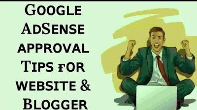 100% adsense approval for website