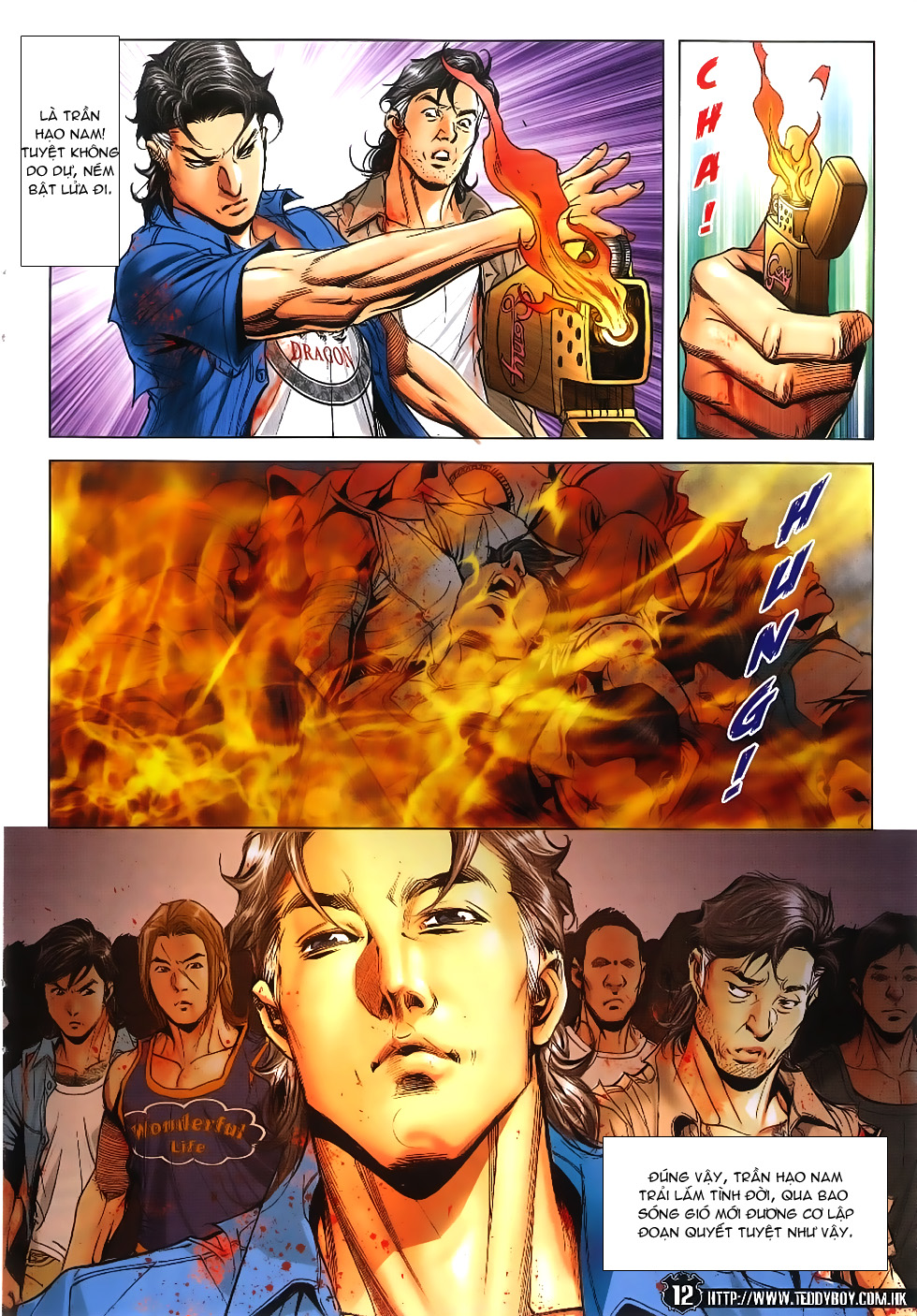 Người Trong Giang Hồ chapter 1861: kết thúc này bắt đầu khác trang 11