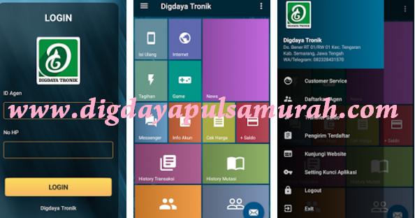 Aplikasi Android Digdaya Tronik Mobile