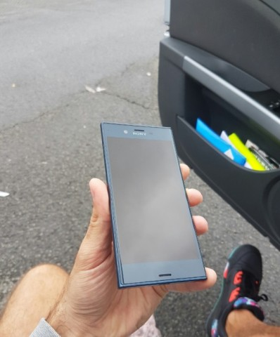 New Sony Xperia F8331 Front Screen Design