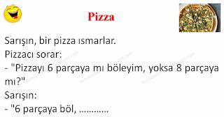 Pizza - Sarışın Fıkraları - Komikler Burada