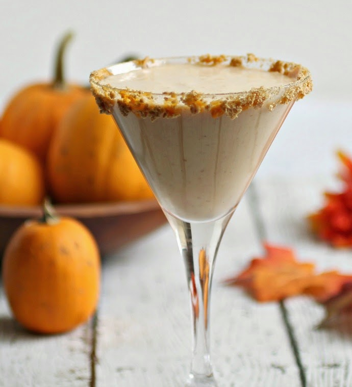Pumpkin Cheesecake Martini