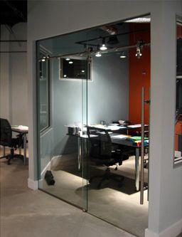 LAGUNA WALL AND GLASS MOUNT DOOR NYC