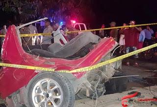 Notas policiales: Accidente deja dos muertos y dos heridos