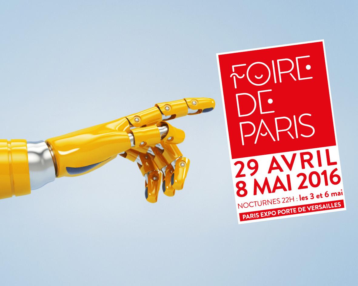 La foire de paris 2016 concours inside la parisienne for Foire de versailles