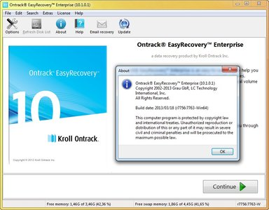 Ontrack easy recovery home