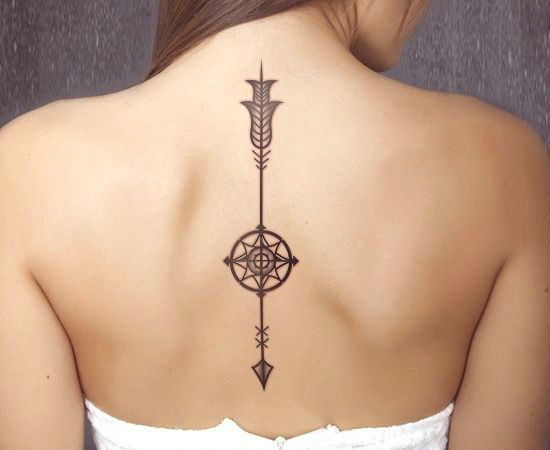 Tatuajes Super Sexys En La Espalda Para Mujeres Belagoria La Web - Tatuaje-para-mujeres-en-la-espalda