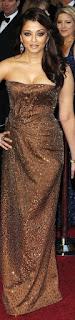 Aishwarya Rai In Brown Dress 2