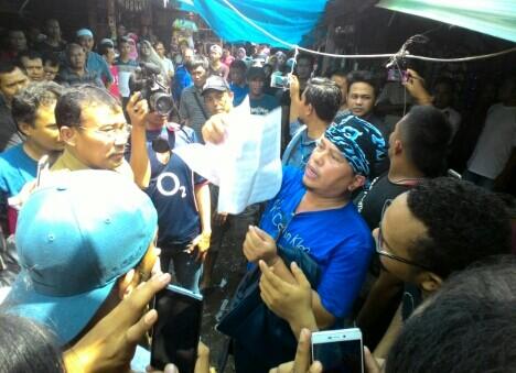 Orasi Didepan Pedagang, Eep Hidayat Diusir Polisi