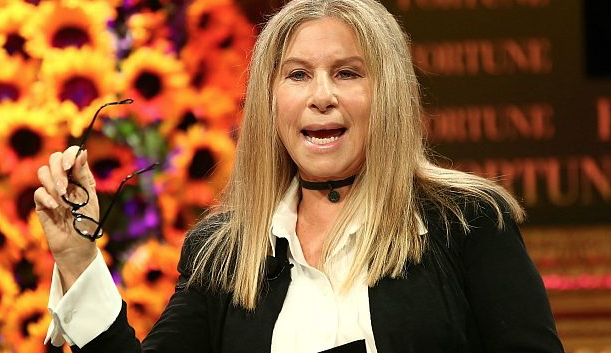 Barbra Streisand Admits Trump Is 'Making Me Fat'