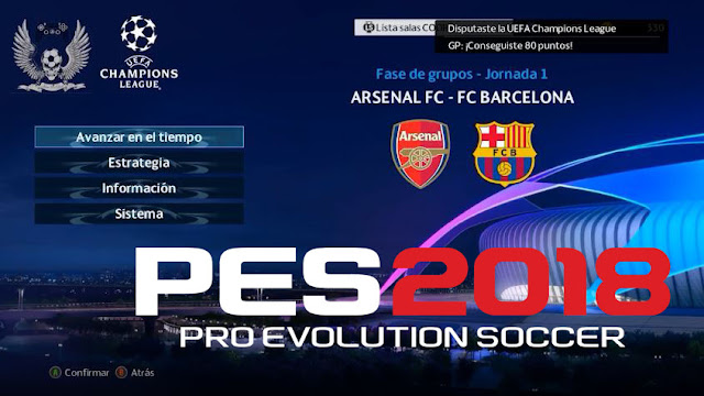 Champions League 2018 19 Pinterest: PES 2018 UEFA Champions League Intro & Graphic 2018/19