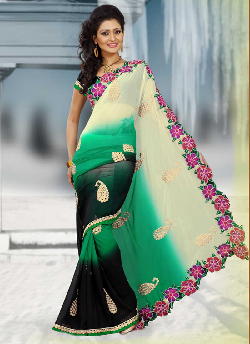 Latest Design Of Assam Type House: Saree Designs For Summer