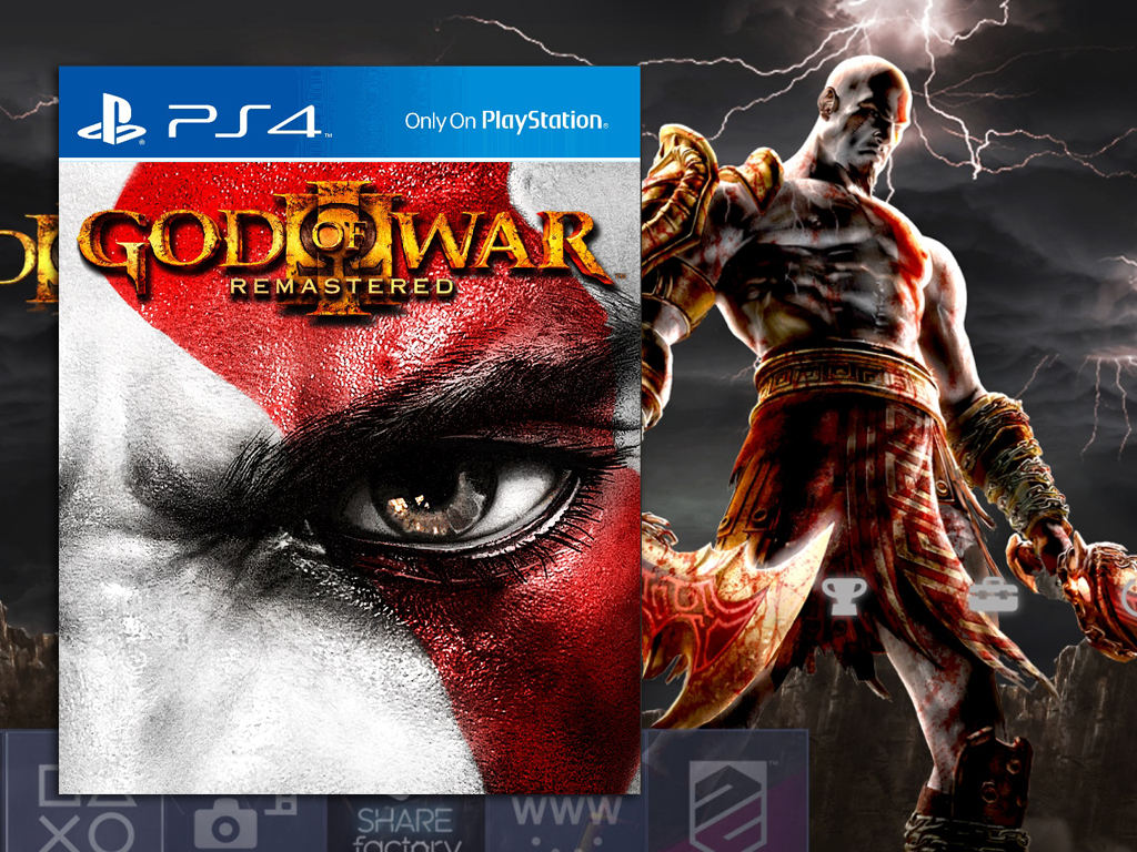 God Of War Iii Will Be Remastered To Playstation 4