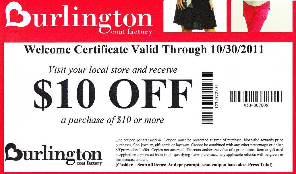 picture regarding Burlington Coat Factory Printable Coupons known as Burlington coat manufacturing unit discount codes 2018 / Auto promotions perth
