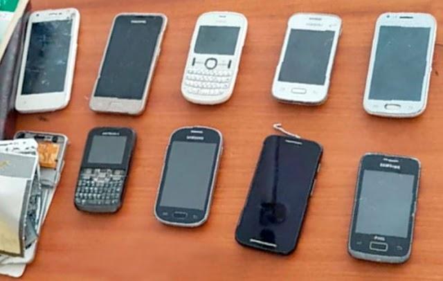 Secretaria de Administração Penitenciária atualiza números de celulares apreendidos