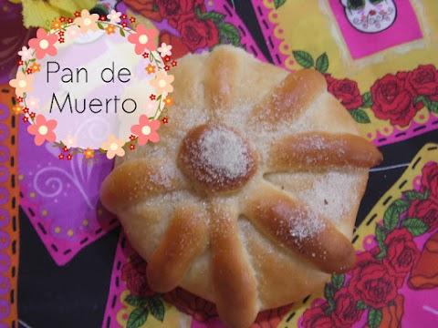 Receta del tradicional pan de muerto