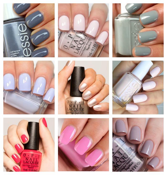 metropolitan musings favorite spring nail colors