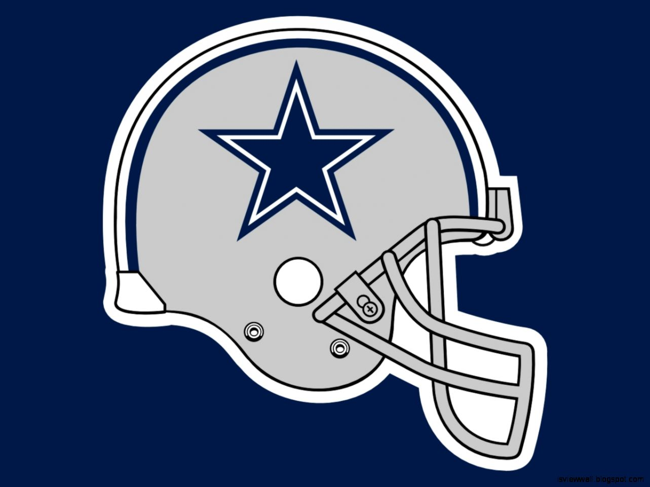 Dallas Cowboys Team Grey Helmet Wallpaper View Wallpapers